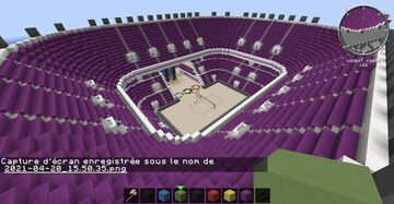 Olympic Beach Volley Stadium Minecraft Map & Project