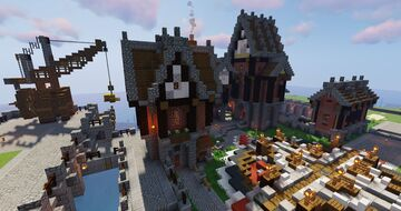 Warp Zuid | Dutchminecrafters Minecraft Map & Project