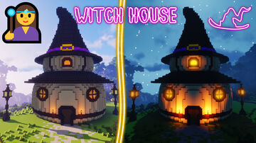 Fairy Witch House Minecraft Map & Project