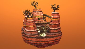 COMMISSION | Wild West Faction Spawn Minecraft Map & Project
