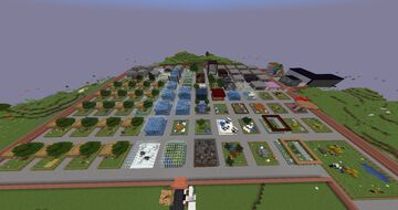 Simple All Creature Zoo Minecraft Map & Project