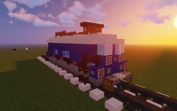 Train Minecraft Map & Project