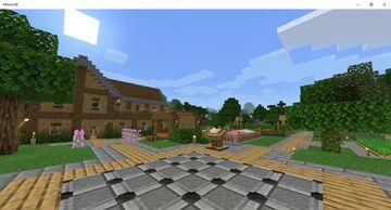 HexagonType's Server World Minecraft Map & Project