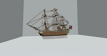 HMS Royal George (1788) Minecraft Map & Project