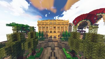 Victorian Bank Minecraft Map & Project
