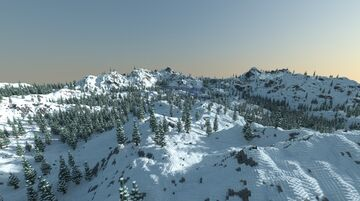 Snow-capped mountains Minecraft Map & Project