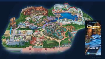 Disneyland Resort Part 2 (Disney California Adventure Resort) Minecraft Map & Project