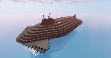 Fictionnal Futuristic SSBN [1:1] Minecraft Map & Project
