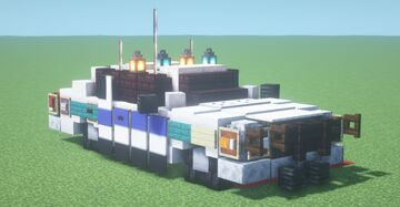Ford Crown Victoria Police Interceptor (2:1 scale) Minecraft Map & Project