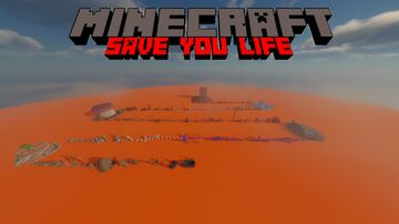 Save you life: parkour Minecraft Map & Project