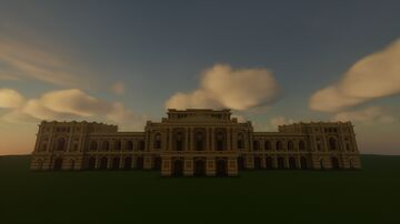 Ipiranga Museum - Special Building for 2000 followers Minecraft Map & Project