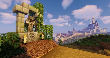 Hadriana - Realistic Medieval Town - Fables and Fantasy Minecraft Map & Project