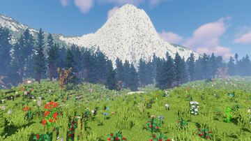 """""""ALONE"""" Survival map[DOWNLOAD]very detailed mountain map 1.16+ Minecraft Map & Project"""