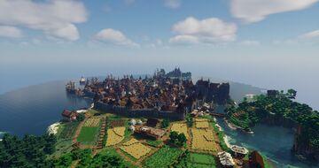 "Medival City ""Ettinsborg"" Minecraft Map & Project"