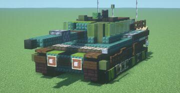 Strv. 121 (1.5:1 scale) Minecraft Map & Project