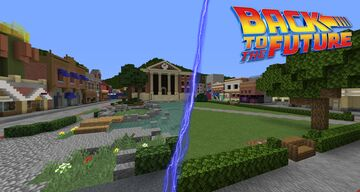 Hill Valley - with working time travel! Minecraft Map & Project