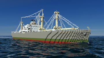 SS Hellas Liberty (cargo service version) Minecraft Map & Project
