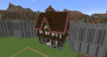 Super House Minecraft Map & Project