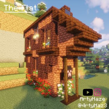 The Flat Minecraft Map & Project