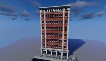 downtown building Minecraft Map & Project