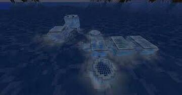Underwater Base (Frozen Ocean) Minecraft Map & Project