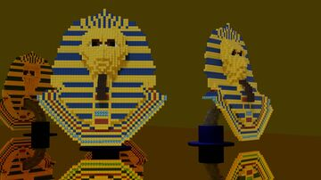 Egyptian Mask - downloadable Minecraft Map & Project