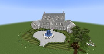 Downloadable 1.17.1 Mansion Minecraft Map & Project