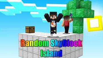 Random SkyBlock Island Minecraft Map & Project