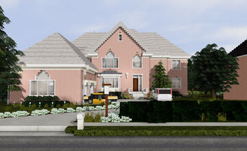 Canton Hills McMansion 3 | TRS Minecraft Map & Project