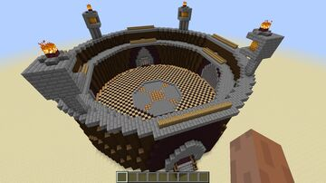 PopularMMos Arena Minecraft Map & Project