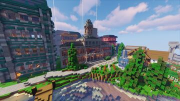 Moodon Central Station + Subway Tunnels Minecraft Map & Project