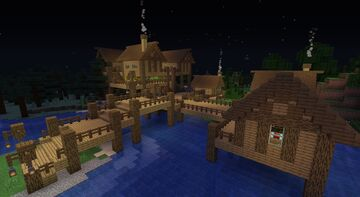 Over the river Minecraft Map & Project