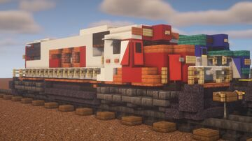 """Canadian Pacific - EMD GP38-2 """"SOO Leased Power"""" Minecraft Map & Project"""