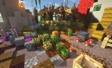 Wildcraft's Monthly Survival Showcase - March 2021 Minecraft Map & Project