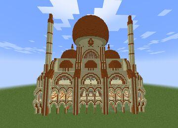 arab palace Minecraft Map & Project