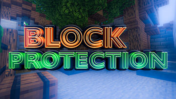 Block Protection 1.0 Minecraft Map & Project