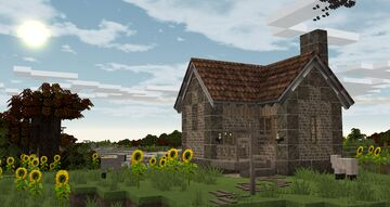 Blacksmith Forge Cottage  - Cocricot Mod Minecraft Map & Project