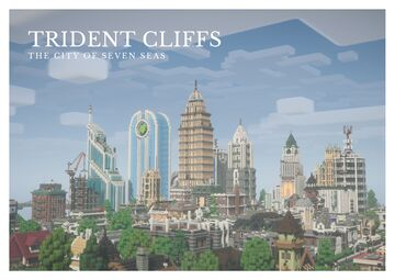 Trident Cliffs City Minecraft Map & Project