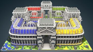 HCF Conquest - GREEK Theme Minecraft Map & Project