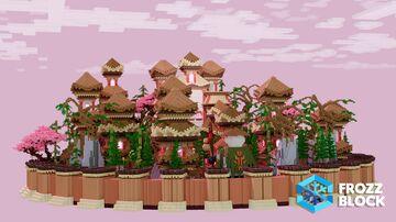 Oriental MainLobby Minecraft Map & Project