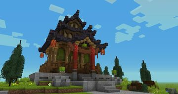House Chinese Minecraft Map & Project