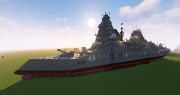 Nemesis Class Destroyer (Fictional) Minecraft Map & Project