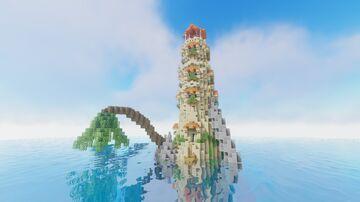 D'kar Island Lighthouse Minecraft Map & Project