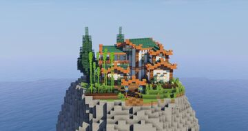 Japanise House Minecraft Map & Project