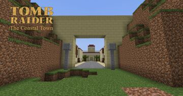 Tomb Raider The Coastal Town Recreation Minecraft Map & Project