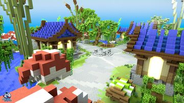 HCF Spawn - Medieval Theme Minecraft Map & Project