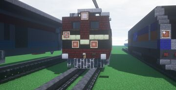 Indian Railways Electric Locomotive WAM-1 Minecraft Map & Project