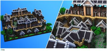 Extravagant Medieval Spawn Minecraft Map & Project