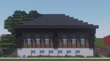 г. Далматово, улица Ленина, 93. / Dalmatovo, Lenin street, 93. Minecraft Map & Project