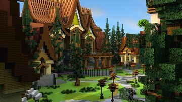 Survival Spawn [Natural theme] Minecraft Map & Project